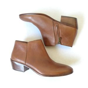 NEW Sam Edelman brown Petty ankle boots wide